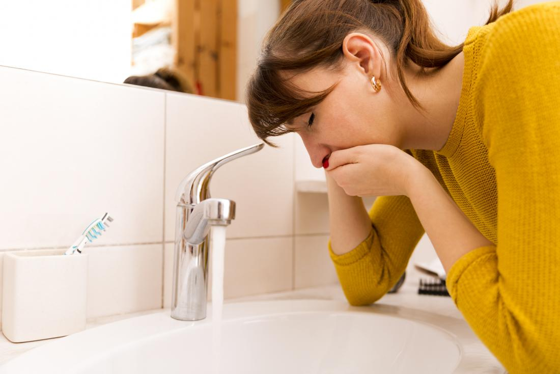 Nausea and vomiting are potential signs of early pregnancy.