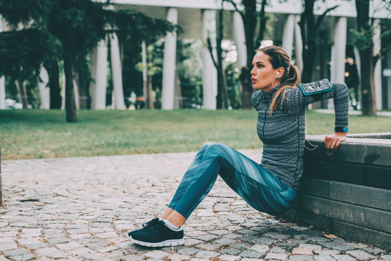 cold prevention, woman exercising, healthista