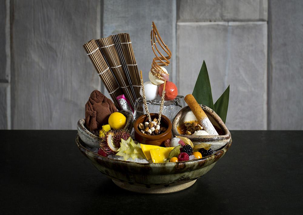 ROKA Aldwych dessert platter 1