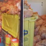 Clinical waste 'backlog' pictured at North Lanarkshire health centres