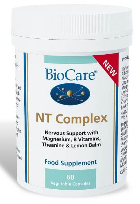 Biocare NT Complex Product shot-How to relieve stress without drugs - the expert's guide