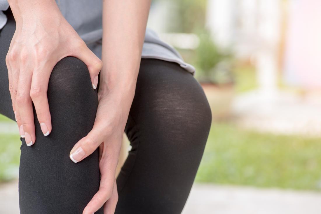 blood clot behind knee