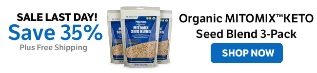 Save 35% on an Organic MITOMIX™ KETO Seed Blend 3-Pack