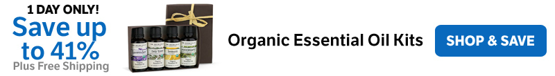 Save Up to 41% on Organic Essential Oil Kits