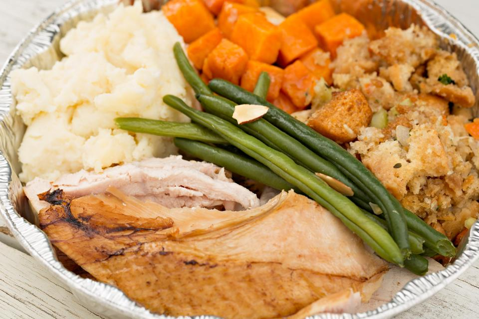Turkey Dinner Leftovers